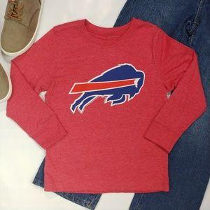 2T Boys Buffalo Bills Logo Long Sleeve Top